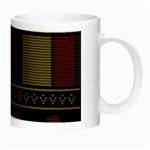 Tardis Doctor Who Ugly Holiday Night Luminous Mugs Right