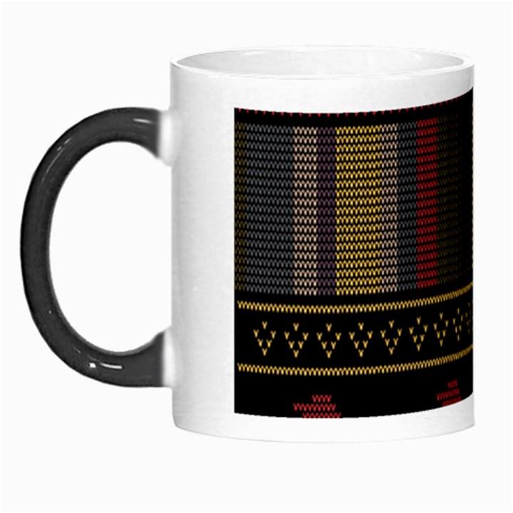 Tardis Doctor Who Ugly Holiday Morph Mugs