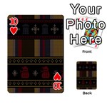 Tardis Doctor Who Ugly Holiday Playing Cards 54 Designs  Front - Heart10