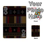 Tardis Doctor Who Ugly Holiday Playing Cards 54 Designs  Front - Club10