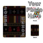 Tardis Doctor Who Ugly Holiday Playing Cards 54 Designs  Front - Joker1