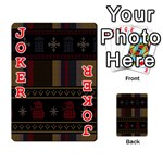 Tardis Doctor Who Ugly Holiday Playing Cards 54 Designs  Front - Joker2