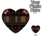 Tardis Doctor Who Ugly Holiday Playing Cards 54 (Heart)  Front - Heart10