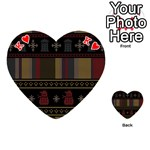 Tardis Doctor Who Ugly Holiday Playing Cards 54 (Heart)  Front - HeartK