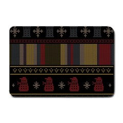 Tardis Doctor Who Ugly Holiday Small Doormat