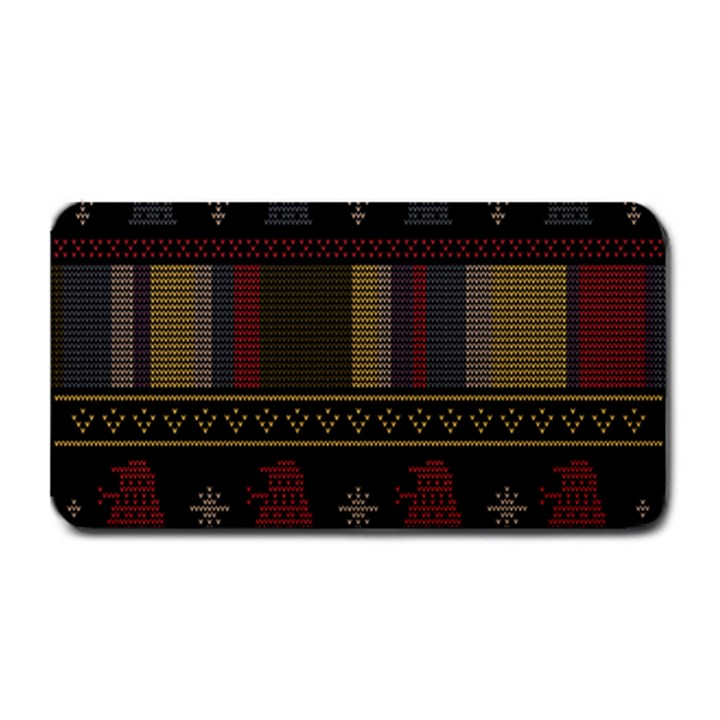 Tardis Doctor Who Ugly Holiday Medium Bar Mats
