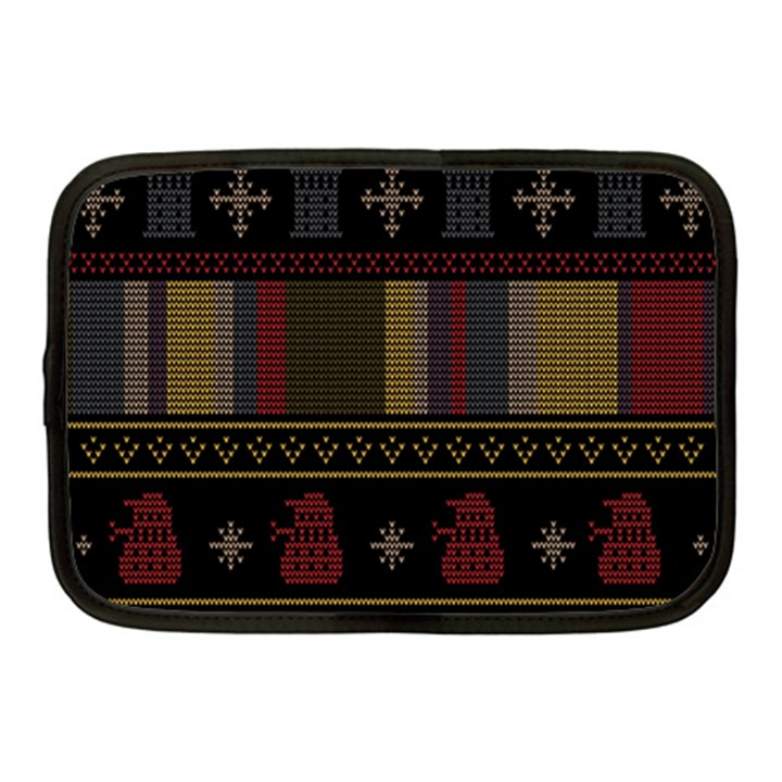 Tardis Doctor Who Ugly Holiday Netbook Case (Medium)