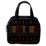 Tardis Doctor Who Ugly Holiday Classic Handbags (One Side) Front