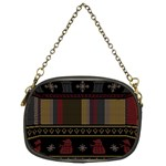 Tardis Doctor Who Ugly Holiday Chain Purses (Two Sides)  Back