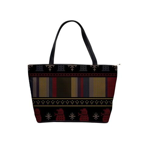 Tardis Doctor Who Ugly Holiday Shoulder Handbags