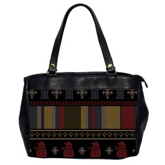 Tardis Doctor Who Ugly Holiday Office Handbags (2 Sides)