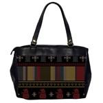 Tardis Doctor Who Ugly Holiday Office Handbags (2 Sides)  Back