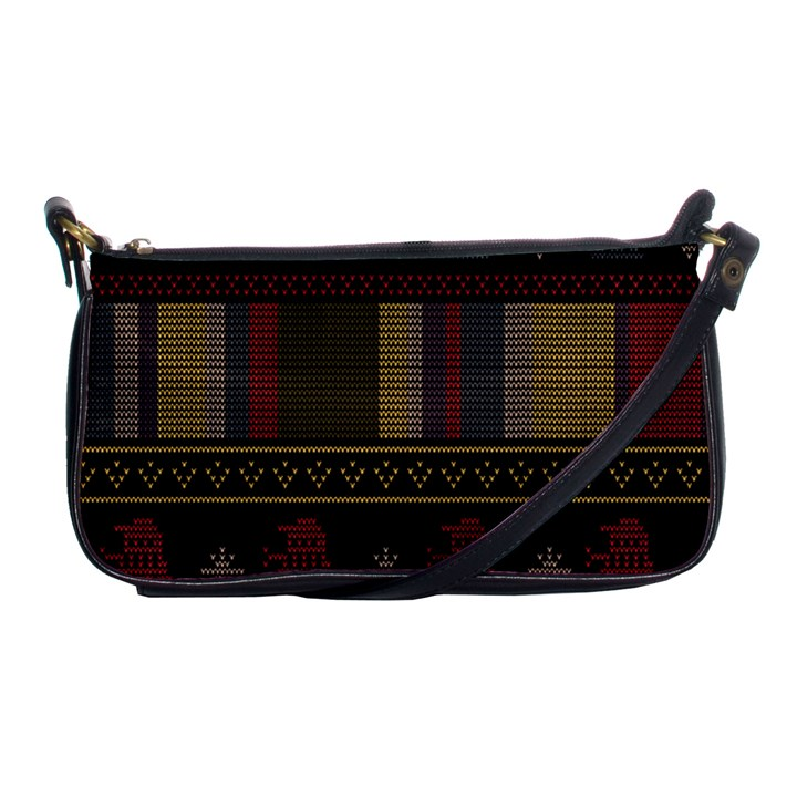 Tardis Doctor Who Ugly Holiday Shoulder Clutch Bags