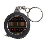 Tardis Doctor Who Ugly Holiday Measuring Tapes Front
