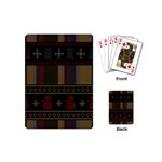 Tardis Doctor Who Ugly Holiday Playing Cards (Mini)  Back