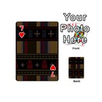 Tardis Doctor Who Ugly Holiday Playing Cards 54 (Mini)  Front - Heart7