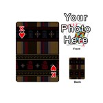 Tardis Doctor Who Ugly Holiday Playing Cards 54 (Mini)  Front - HeartK
