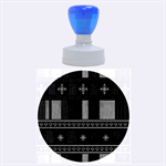 Tardis Doctor Who Ugly Holiday Rubber Round Stamps (Large) 1.875 x1.875  Stamp