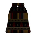 Tardis Doctor Who Ugly Holiday Bell Ornament (2 Sides) Back