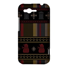 Tardis Doctor Who Ugly Holiday HTC Rhyme