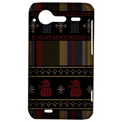 Tardis Doctor Who Ugly Holiday HTC Incredible S Hardshell Case
