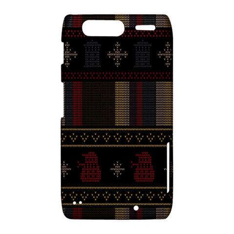 Tardis Doctor Who Ugly Holiday Motorola Droid Razr XT912