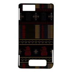 Tardis Doctor Who Ugly Holiday Motorola DROID X2