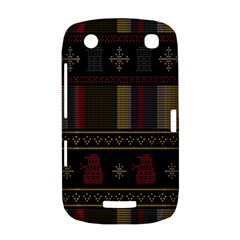 Tardis Doctor Who Ugly Holiday BlackBerry Curve 9380