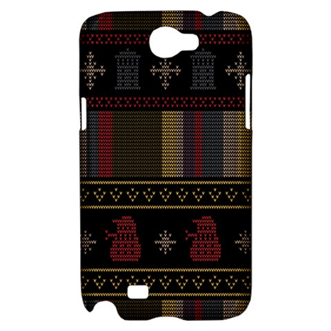 Tardis Doctor Who Ugly Holiday Samsung Galaxy Note 2 Hardshell Case
