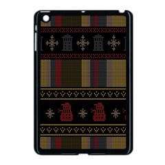 Tardis Doctor Who Ugly Holiday Apple iPad Mini Case (Black)