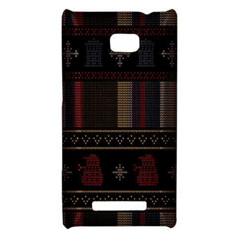 Tardis Doctor Who Ugly Holiday HTC 8X