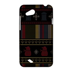 Tardis Doctor Who Ugly Holiday HTC Desire VC (T328D) Hardshell Case