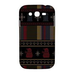 Tardis Doctor Who Ugly Holiday Samsung Galaxy Grand DUOS I9082 Hardshell Case