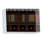 Tardis Doctor Who Ugly Holiday 4 x 6  Acrylic Photo Blocks Front