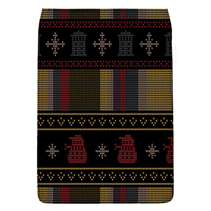 Tardis Doctor Who Ugly Holiday Flap Covers (S)