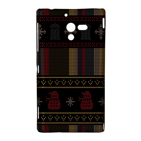 Tardis Doctor Who Ugly Holiday Sony Xperia ZL (L35H)