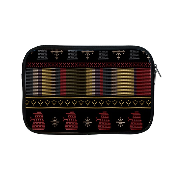 Tardis Doctor Who Ugly Holiday Apple iPad Mini Zipper Cases