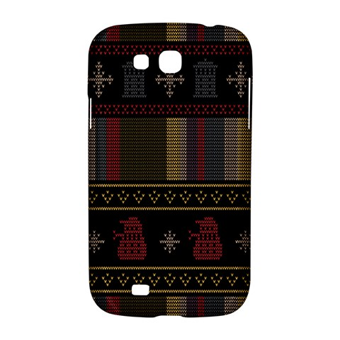 Tardis Doctor Who Ugly Holiday Samsung Galaxy Grand GT-I9128 Hardshell Case