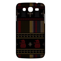Tardis Doctor Who Ugly Holiday Samsung Galaxy Mega 5 8 I9152 Hardshell Case