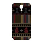 Tardis Doctor Who Ugly Holiday Samsung Galaxy S4 I9500/I9505  Hardshell Back Case Front