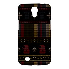 Tardis Doctor Who Ugly Holiday Samsung Galaxy Mega 6 3  I9200 Hardshell Case