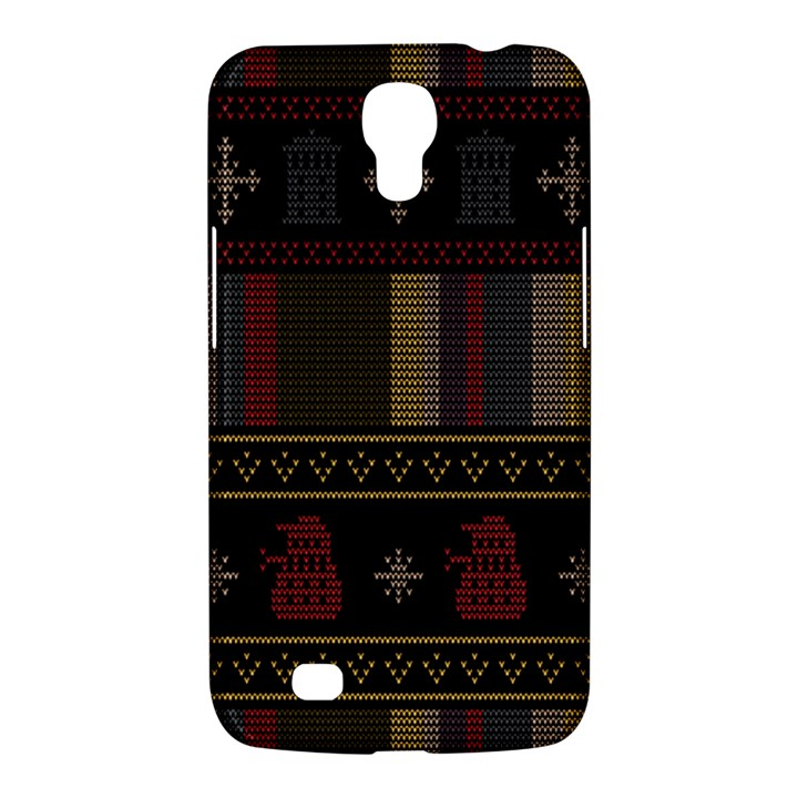 Tardis Doctor Who Ugly Holiday Samsung Galaxy Mega 6.3  I9200 Hardshell Case