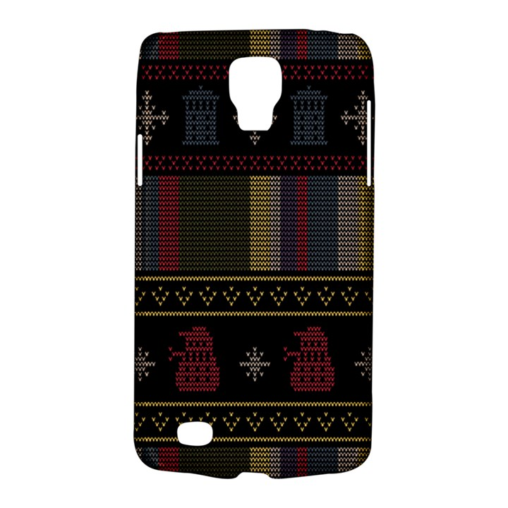 Tardis Doctor Who Ugly Holiday Galaxy S4 Active