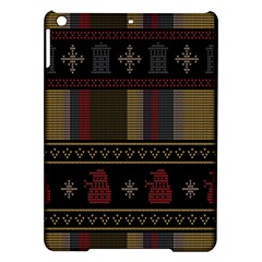 Tardis Doctor Who Ugly Holiday Ipad Air Hardshell Cases