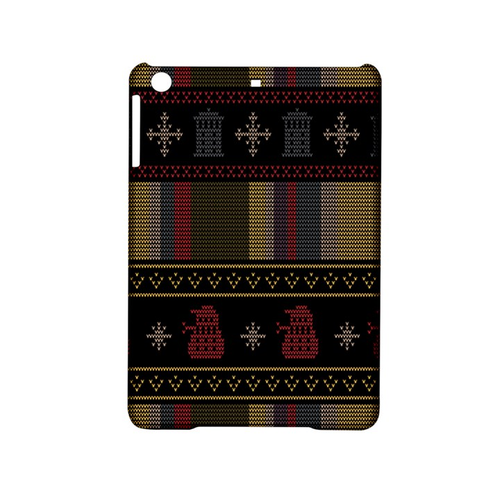 Tardis Doctor Who Ugly Holiday iPad Mini 2 Hardshell Cases