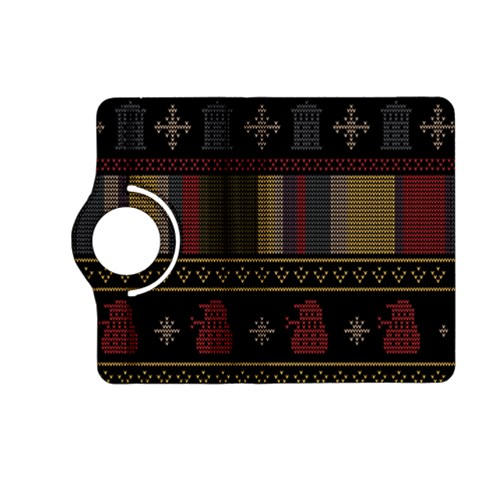 Tardis Doctor Who Ugly Holiday Kindle Fire HD (2013) Flip 360 Case