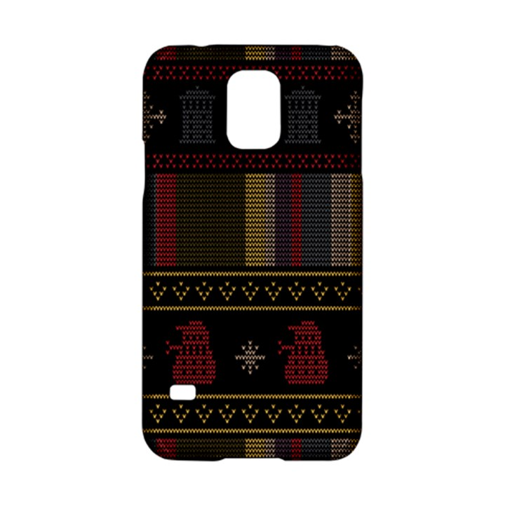 Tardis Doctor Who Ugly Holiday Samsung Galaxy S5 Hardshell Case