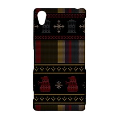 Tardis Doctor Who Ugly Holiday Sony Xperia Z2
