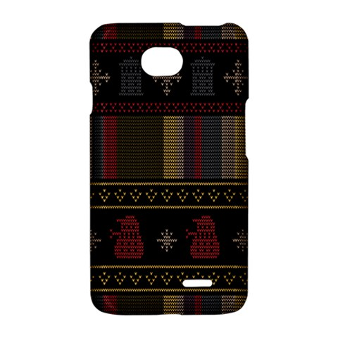 Tardis Doctor Who Ugly Holiday LG Optimus L70