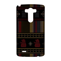 Tardis Doctor Who Ugly Holiday LG G3 Hardshell Case